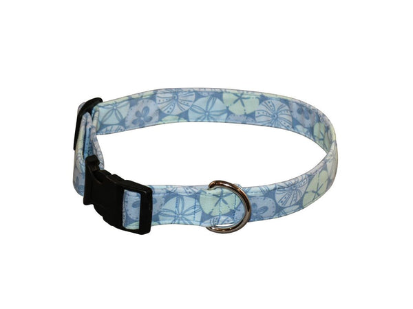 Elmo's Closet Sand Dollar Daze Dog Collar