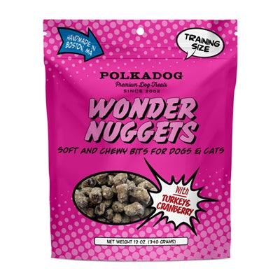 Turkey & Cranberry Wonder Nuggets Soft Dog Training Treats - 12 oz