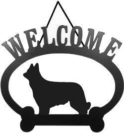 Sweeney Ridge Briard Welcome Sign