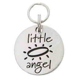 Pewter Pet Charm - Little Angel