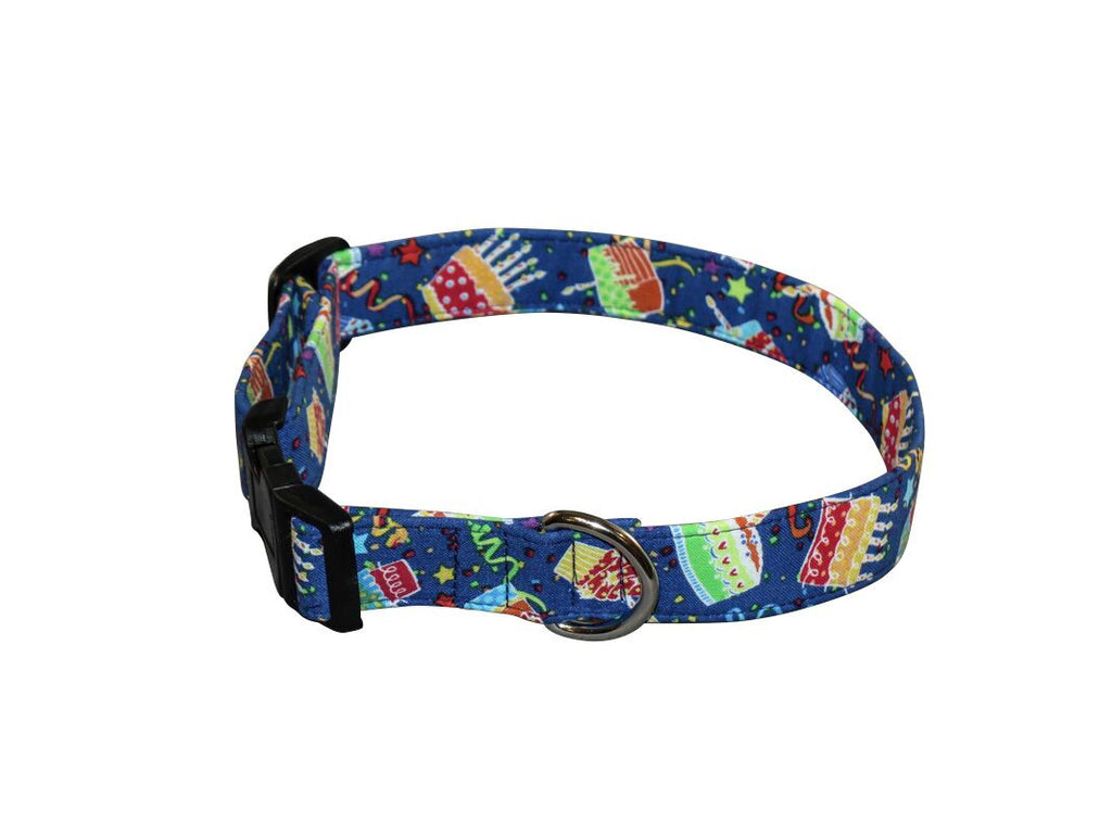 Elmou0027s Closet Birthday Bash Dog Collar