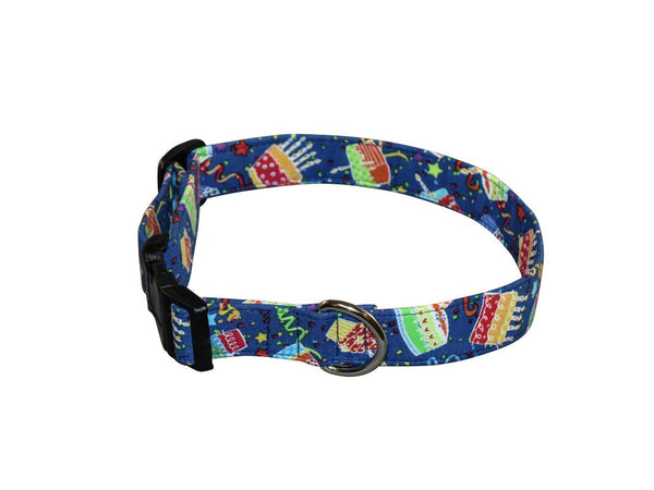 Elmo's Closet Birthday Bash Dog Collar