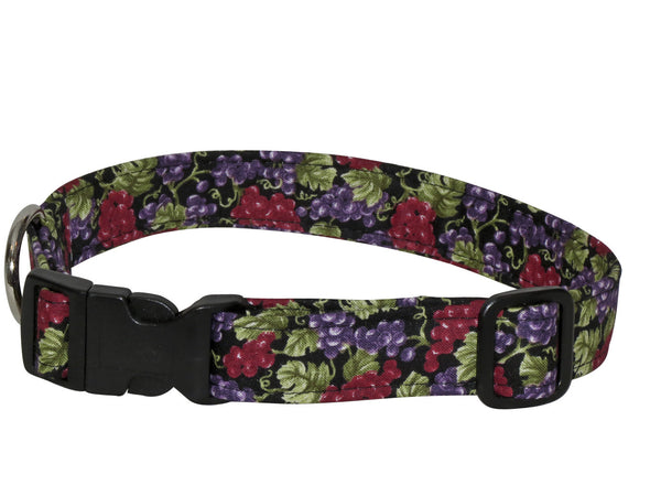 Elmo's Closet Grapevines Dog Collar