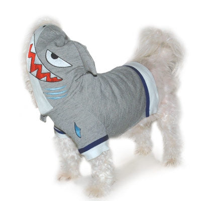 Shark Dog Sweatshirt With Hood