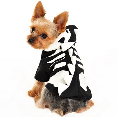 Dragon Skeleton Dog Halloween Costume