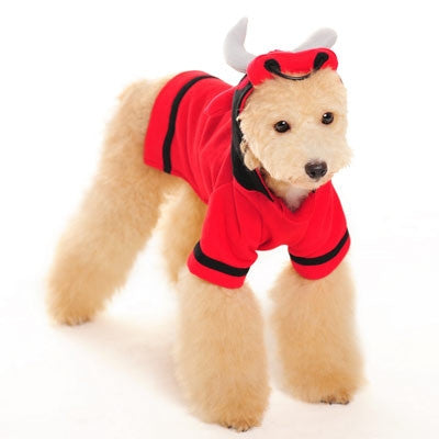 Angry Red Bull Dog Halloween Costume