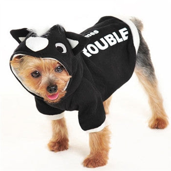 Trouble Skunk Dog Sweatshirt