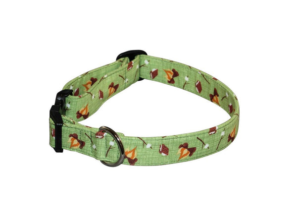 Elmo's Closet S'mores Dog Collar