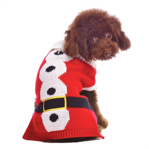 Santa Dog Sweater
