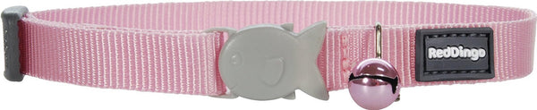Red Dingo Designer Cat Safety Collar - Classic Pink