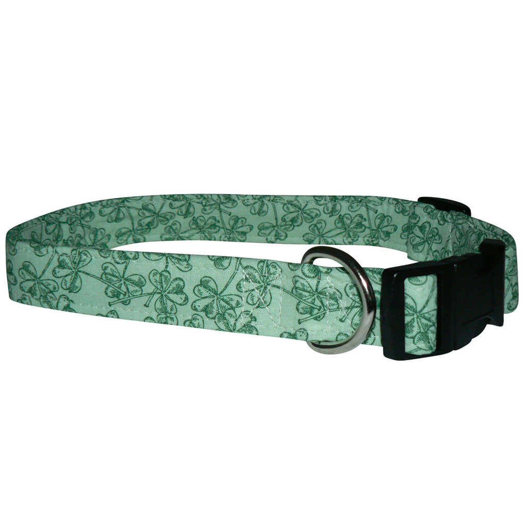 Elmou0027s Closet Shamrock Impressions Dog Collar