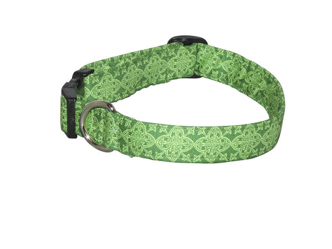 Elmo's Closet Celtic Medallion Dog Collar