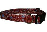 Elmo's Closet Flag & Stars Dog Collar