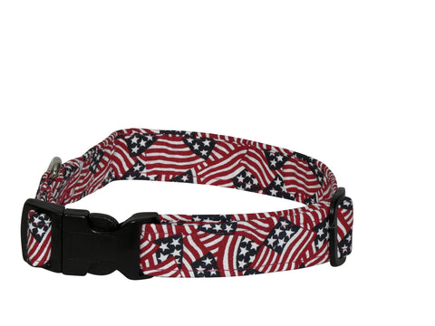 Elmou0027s Closet Spirit Of 76 Dog Collar