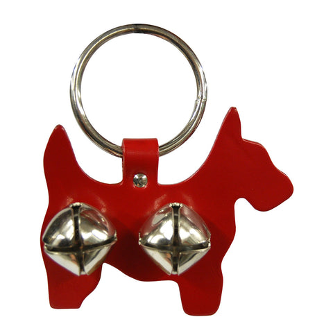Sleigh Bell Door Hanger - Scottie