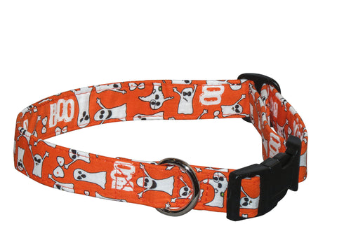 Elmo's Closet Boo Dog Collar