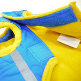 Puffer Dog Jacket - Blue