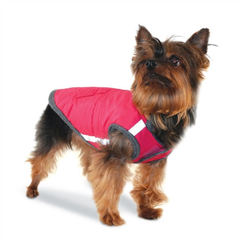 Puffer Dog Jacket - Fuchsia Pink