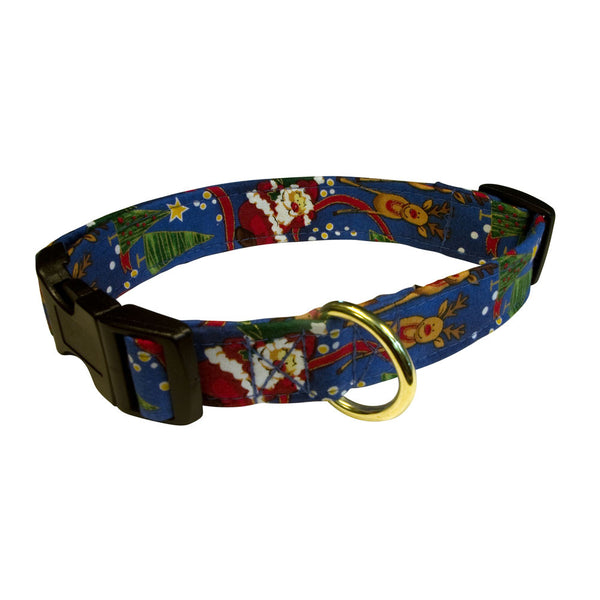 Elmo's Closet Christmas Eve Dog Collar