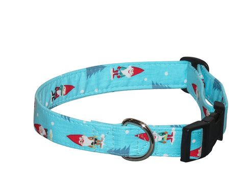 Elmo's Closet Gnomes Dog Collar