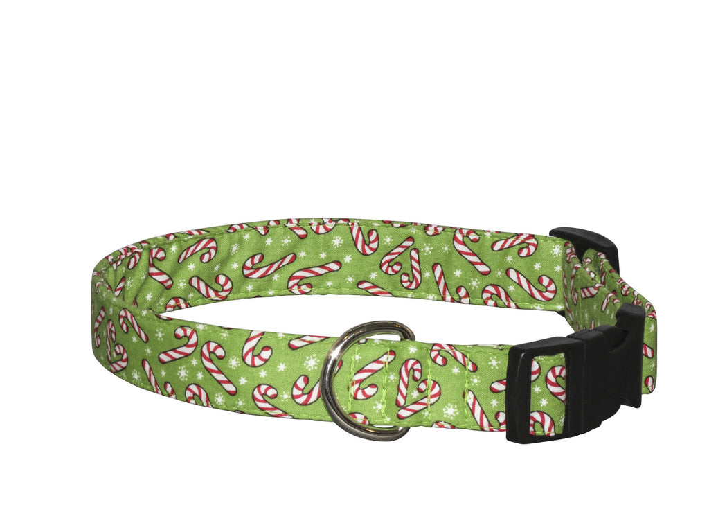 Elmou0027s Closet Candy Canes U0026 Snow Dog Collar