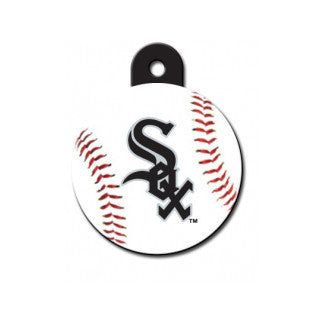 Chicago White Sox MLB Custom Engraved Dog ID Tag - Round