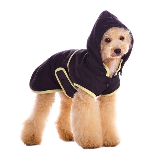 Classic Trench Coat For Dogs - Black