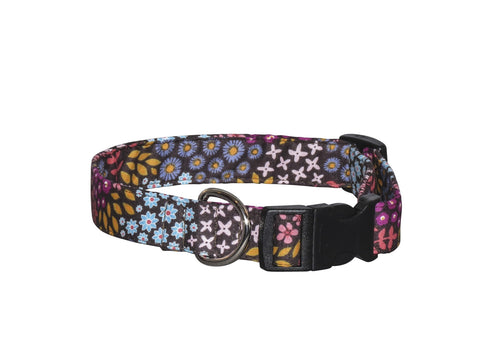 Elmo's Closet Floral Dance Dog Collar