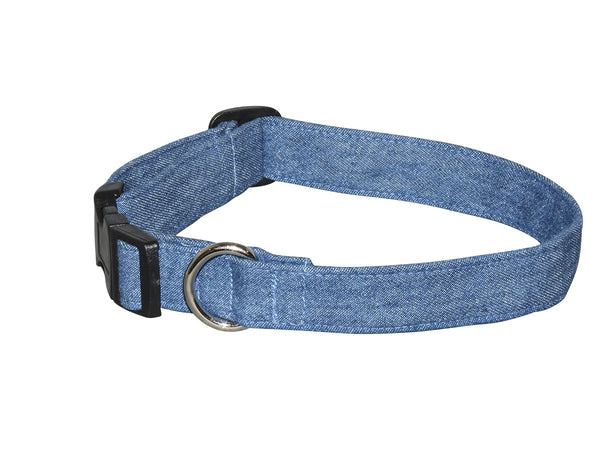 Elmo's Closet Favorite Jeans Dog Collar