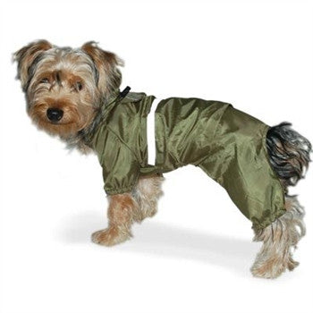 Dog Rain Jumper - Green
