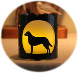 Chesapeake Bay Retriever Dog Breed Jar Candle Holder