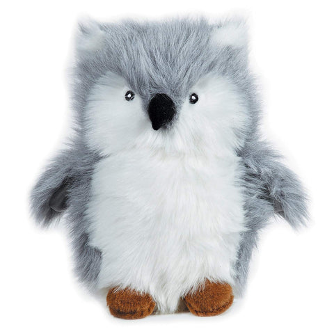 Grriggles Artic Buddies Owl Dog Squeak Toy (Extra Large)
