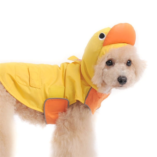 Yellow Ducky Dog Raincoat