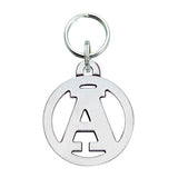 Cut-Out Circle Initial Dog Charm - Letter A