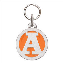 Rockin' Doggie Color Initial Dog Tag - Letter A