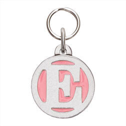 Rockin' Doggie Color Initial Dog Tag - Letter E