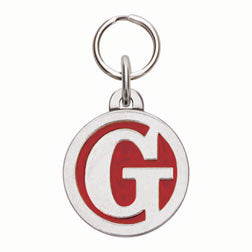 Rockin' Doggie Color Initial Dog Tag - Letter G