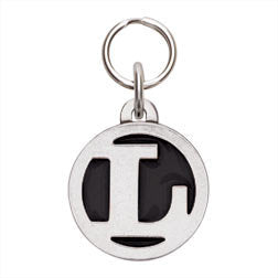Rockin' Doggie Color Initial Dog Tag - Letter L