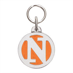 Rockin' Doggie Color Initial Dog Tag - Letter N