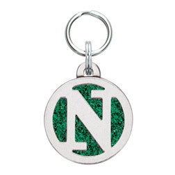Rockin' Doggie Color Sparkle Initial Dog Tag - Letter N