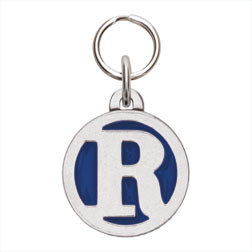 Rockin' Doggie Color Initial Dog Tag - Letter R