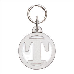 Rockin' Doggie Color Initial Dog Tag - Letter T