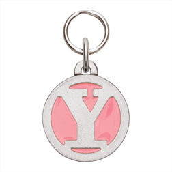 Rockin' Doggie Color Initial Dog Tag - Letter Y