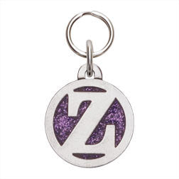 Rockin' Doggie Color Initial Dog Tag - Letter Z