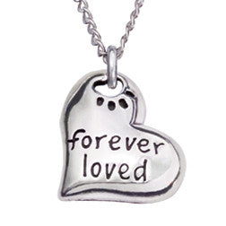 Rockin Doggie Sterling Silver Necklace - Forever Loved