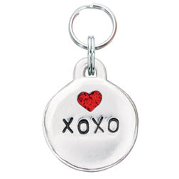 Rockin' Doggie Bubble Dog Tag - XOXO w/Heart
