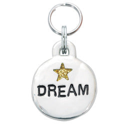 Rockin' Doggie Bubble Dog Tag - Dream w/Star