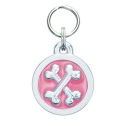Rockin' Doggie Circle & Bones Dog Tag