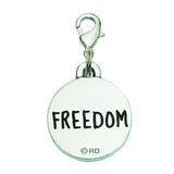 American Flag Dog Charm (Freedom)