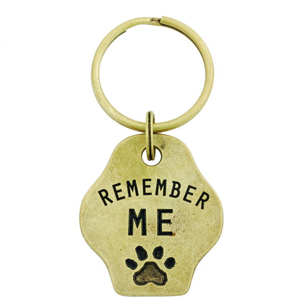 Paw Print Keychain - Remember Me